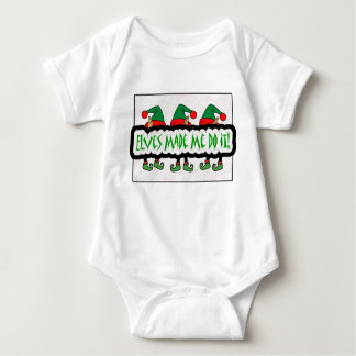 Elves Made Me Do It! Baby Clothes Baby Bodysuit