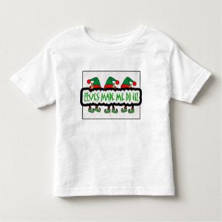 Elves Made Me Do It! Children's Shirt