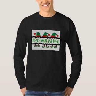 Elves Made Me Do It! Men's Sweatshirt