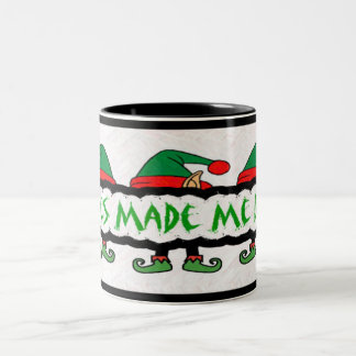 Elves Made Me Do It! Mug