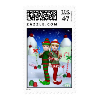 Elves of Candy Mountain Postage