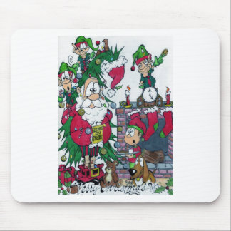 Elves on Strike Mouse Pads
