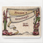 Elves - Season's Greetings Mousepad