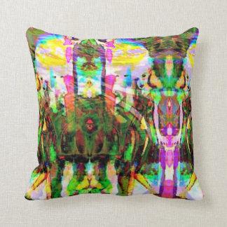 Elves Throw Pillow