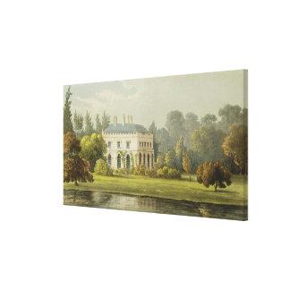 Elvills, Englefield Green, from Ackermann's 'Repos Canvas Print