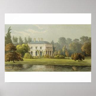 Elvills, Englefield Green, from Ackermann's 'Repos Poster