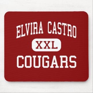 Elvira Castro - Cougars - Middle - San Jose Mouse Pad