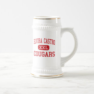 Elvira Castro - Cougars - Middle - San Jose 18 Oz Beer Stein
