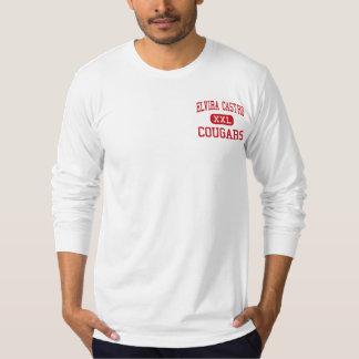 Elvira Castro - Cougars - Middle - San Jose T-Shirt