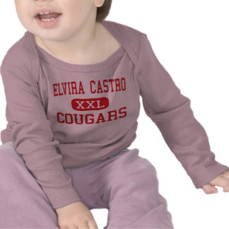 Elvira Castro - Cougars - Middle - San Jose Tshirt