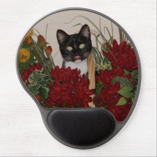 Elvira el gato, gel Mousepad. Alfombrilla De Raton Con Gel