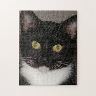 Elvira el rompecabezas de la foto del gato