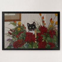 Elvira the Cat, Photo Puzzle. Jigsaw Puzzle