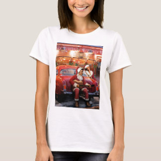Elvis and Marilyn Christmas T-Shirt