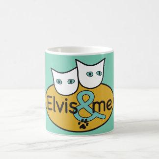 'Elvis & ME' 11 oz Aqua Classic Mug