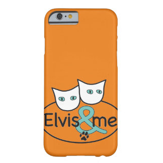 'Elvis & me' iPhone 6 Barely There Case