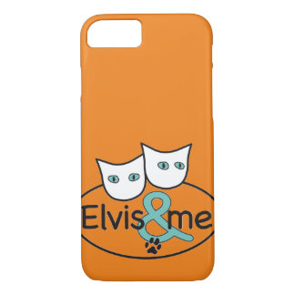 'Elvis & me' iPhone 7 Barely There Case
