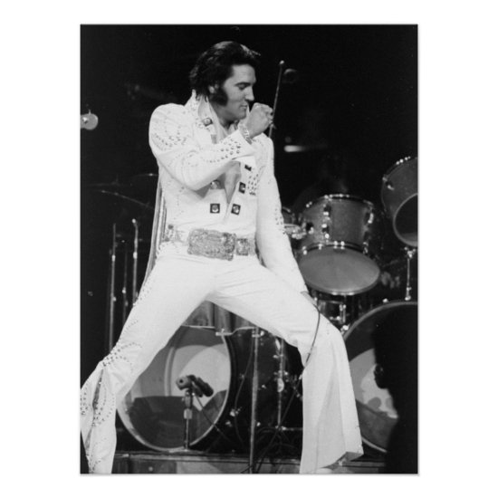 Elvis Presley   1972 Madison Square Garden Poster
