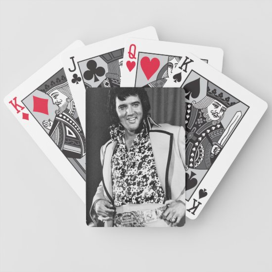 Elvis Presley | New York Press Conference Bicycle Playing Cards
