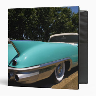 Elvis Presley's Green Cadillac Convertible in 3 Ring Binder