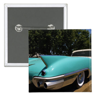 Elvis Presley's Green Cadillac Convertible in 2 Inch Square Button