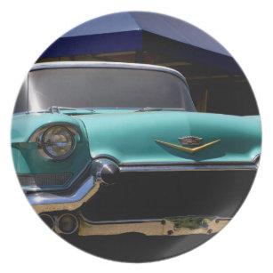 Elvis Presleyu0027s Green Cadillac Convertible in Dinner Plate  sc 1 st  Zazzle & Elvis Presley Plates   Zazzle