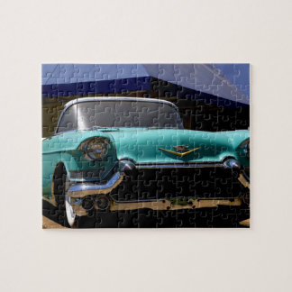 Elvis Presley's Green Cadillac Convertible in Jigsaw Puzzle