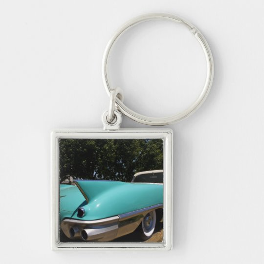 Elvis Presley's Green Cadillac Convertible in Keychain