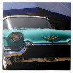 Elvis Presley's Green Cadillac Convertible in Large Square Tile