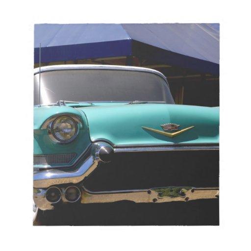 Elvis Presley's Green Cadillac Convertible in Memo Pads