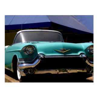 Elvis Presley's Green Cadillac Convertible in Postcard