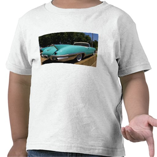 Elvis Presley's Green Cadillac Convertible in Shirts