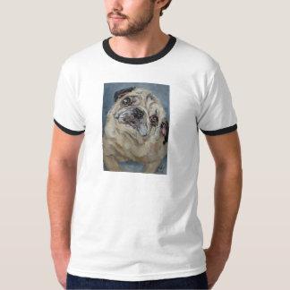 Elvis Puggy Portrait by Nancy Medina T-Shirt