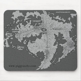 Elwelt Mousepad - Piggy Moto - All Star Boar Band