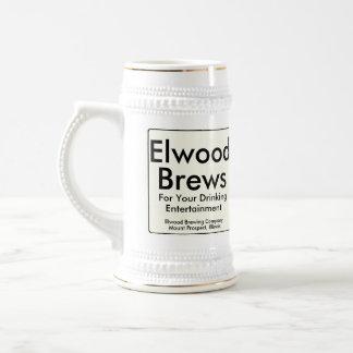 Elwood Brews Beer Stein
