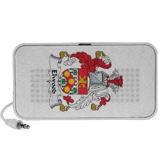 Elwood Family Crest iPod Speakers