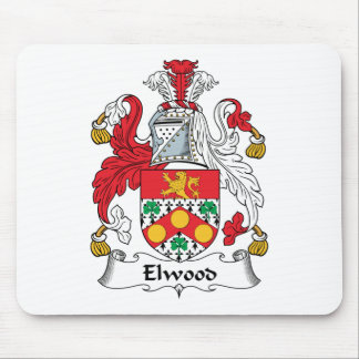 Elwood Family Crest Mouse Pad