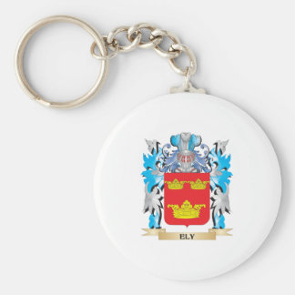 Ely Coat of Arms - Family Crest Key Chain