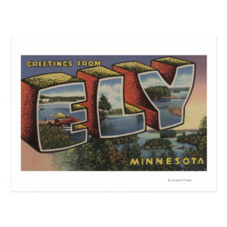 Ely, MinnesotaLarge Letter ScenesEly, MN Postcard