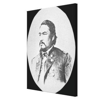 Ely Samuel Parker (1828-95) Seneca Chief and Feder Canvas Prints