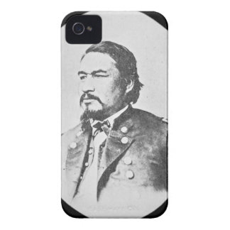 Ely Samuel Parker (1828-95) Seneca Chief and Feder iPhone 4 Case-Mate Case