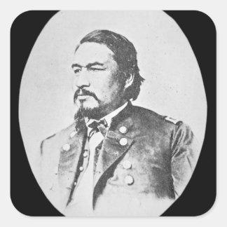 Ely Samuel Parker (1828-95) Seneca Chief and Feder Sticker