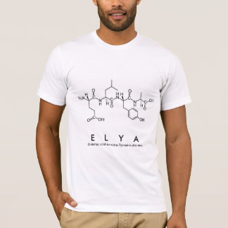 Elya peptide name shirt