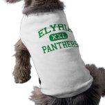 Elyria - panteras - católico - Elyria Ohio Playera Sin Mangas Para Perro
