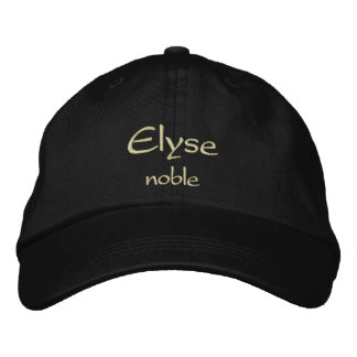 Elyse Name Cap / Hat
