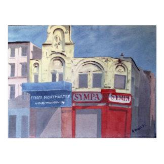 Elysee Montmartre postcard