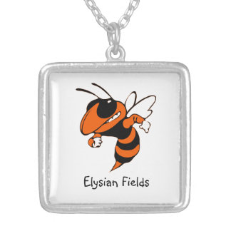 Elysian Fields Yellow Jackets Necklace
