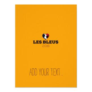 EM 2016 Les bleus France Card