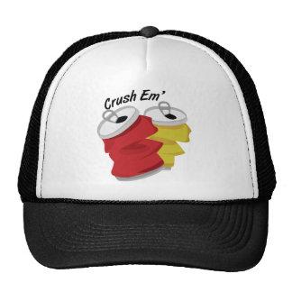 Em del agolpamiento gorras de camionero