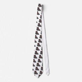 Em del cordón para arriba corbatas